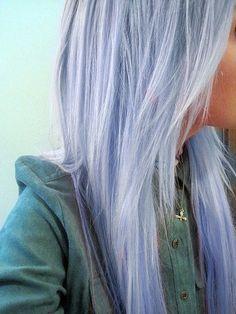 Pastel Periwinkle Hair