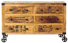 Boknäs: Club Vintage Interiors K2, Wooden Side Board, 760 €