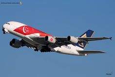 Toutes les tailles | Singapore Airlines / Airbus A380-841 / 9V-SKJ / SG50 | Flickr: partage de photos!