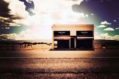 Art installation outside Marfa TX. Marfa Texas, Prada Marfa, Photo Store, Installation Art, Art Photography, To Go, Photoshoot, Wall Art, Places