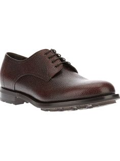 GIORGIO ARMANI Textured Derby Shoe