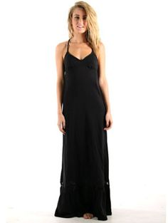 Volcom take me home maxi dress
