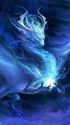 Mystical Animals, Mythical Creatures Art, Mythological Creatures, Magical Creatures, Beautiful Fantasy Art, Dark Fantasy Art, Fantasy Artwork, Beautiful Dragon, Yuumei Art