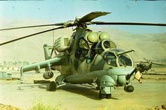 MI-24, Afghanistan - pin by Paolo Marzioli
