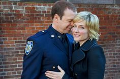 There's one less place to set at the Reagan family dinner table: Amy Carlson has left Blue Bloods. Carlson, who played Linda Reagan on the CBS cop procedural. Amy Carlson, Mixing Hair Color, Blue Bloods Tv Show, Bridget Moynahan, Tv Show Casting, Tom Selleck, Donnie Wahlberg, Shape Magazine, Movie Couples