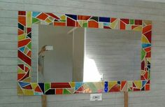 Espejo vitromosaico