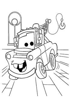 Free Printable Coloring Pages Preschoolers of cars, trucks and ...