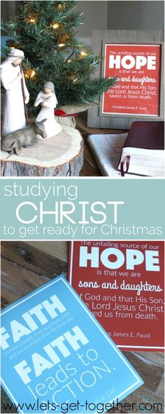 We are doing this. It is helping us so much! Free Printables and a study plan of Christlike attributes that one family did to get ready for Christmas.