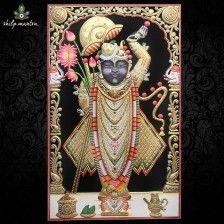 Shreenathji Shringar Painting