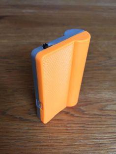 Raspberry Pi Zero W portable 18650 case - media player / streamer by rumina Music Radio, Streamers, 3d Printer, Raspberry, Zero, Diy, Psychics, Bricolage, Raspberries