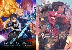 Sword Art Online Alicization et Alternative Gun Gale Online