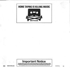 SOPA: Corporations thought tape players would kill the music industry too