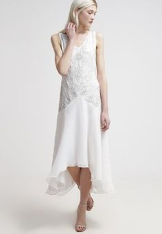 Frock and Frill Occasion wear - white for with free delivery at Zalando Frock And Frill, Cocktail Gowns, Wedding 2015, Occasion Wear, Frocks, Cocktails, White Dress, How To Wear, 2015 Dresses
