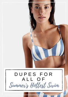 Your Guide to Summer Swim for Less | Dupe's for all of the Hottest Swimsuit Brands | It Girl #REVOLVE Off-Duty Model Style