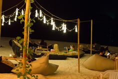 Romantic beach bar on Koh Samui, Mini Bar, Chaweng Beach, Koh Samui, Thailand.