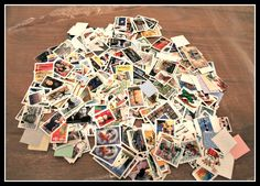 Over 400 Postmarked Postal Stamps, Postmarks, Postmarked Stamps, Stamp Collection, Scrapbooking, Collage, Craft Supplies, Vintage Stamps by InfinityCreationsCo on Etsy