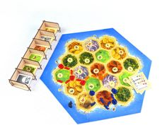 Settlers of Catan board game with Card Holder - 6S DIY
