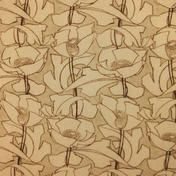 Art Nouveau    fabric - Archibald Knox Designs Lus y Chadlee (Poppies)