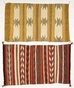 Vintage Navajo Saddle Blankets, Cowan's Auctions.