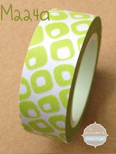 Washi Tape retro green