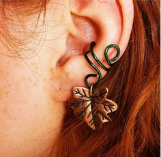 Forest Elf Ear Cuff by BarbedLotusDesigns on Etsy, $12.00
