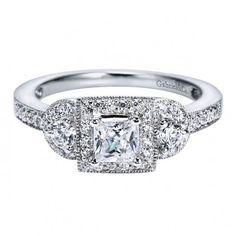 Vintage Engagement Ring Setting   Emma Parker