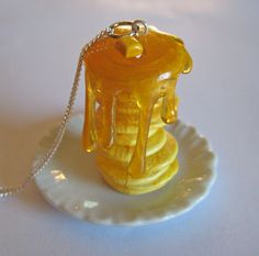 Stack o' Pancakes Necklace