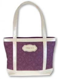 TOTE BAG:  TRUST (TOT026). Available from CUM Books in South Africa.