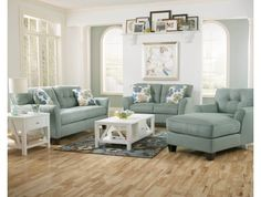 kind of liking this set for somewhere!    Kylee Living Room Sofa - Max Furniture
