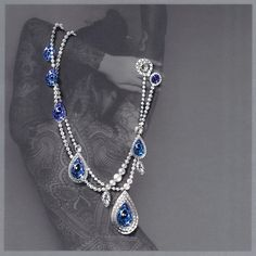 Sapphire Jewelry, Gemstone Jewelry, Gold Jewelry, Jewelry Design Drawing, Jewelry Ads, Jewelry Illustration, Jewellery Sketches, Gemstones, Diamond