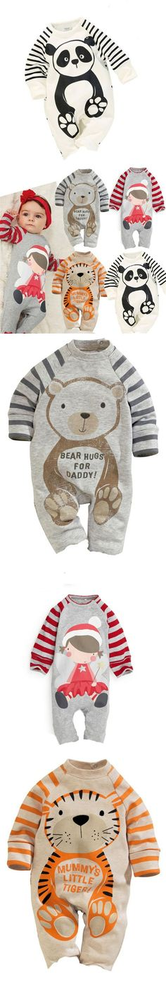 Newborn Baby Long Sleeve Romper 2016 New Baby Clothing Girls Boys Jumpsuits Infant Product Autumn/Winter Baby Rompers