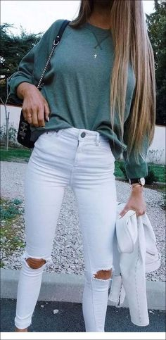 Over 30 modern summer outfits for the school to copy ideas Outfits 2019 Outfits casual Outfits for moms Outfits for school Outfits for teen girls Outfits for work Outfits with hats Outfits women Early Fall Outfits, Trendy Fall Outfits, Teen Fashion Outfits, Cute Fashion, Look Fashion, Girl Fashion, Summer Outfits, Girl Outfits, Holiday Outfits