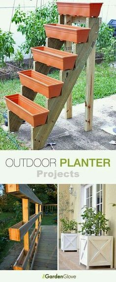 Garden Diy Outdoor Planter Projects Tons of ideas & Tutorials!Garden Diy Outdoor Planter Projects Tons of ideas & Tutorials! Dream Garden, Garden Art, Garden Design, Home And Garden, House Design, Fairies Garden, Family Garden, Garden Types, Garden Club
