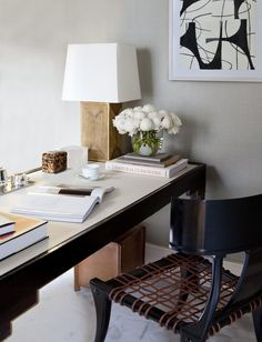 Office and Study in New York, NY by Alyssa Kapito Interiors