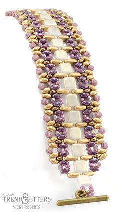 Holiday Workshop 2016 | Marrakesh Mosaic by Vicky Roberts | CzechMates Bar, Tile beads, Melon, MiniDuo, Firepolish, Rondelle