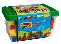 Unico Vödrös kocka készlet Építőjáték, 250 db   MALL.HU