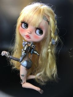 Blythe Custom for list order (not the adopted girl,don't purchase please )