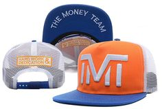HOT TMT The Money Team Trucker mesh Snapbacks Hats hip hop Baseball  fashionable Caps  6  93afc13d3d9