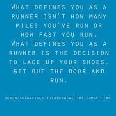 well, I'm still not a runner but i found this motivational x)
