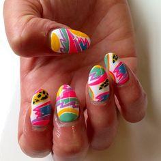 Ken Done nails by Kath! So good x #nails #nailart...