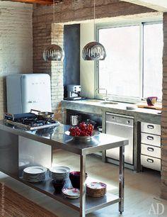 Квартира в Барселоне, 95 м² | Маленькие пространства | Интерьеры в журнале AD | AD Magazine