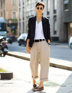 Gender-bending women's fashions