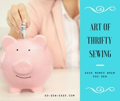 Thrifty sewing is when you can be flexible and a little patient. There are some excellent sources out there for sewing supplies at next-to-nothing prices.