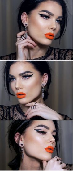 Latest gorgeous makeup for teens. Latest gorgeous makeup for teens. Kiss Makeup, Glam Makeup, Eyeshadow Makeup, Beauty Makeup, Eyeliner, Hair Makeup, Hair Beauty, Make Up Looks, Sexy Make-up