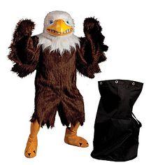 Majestic Eagle Mascot With Tote Set Pheonix Costume, Eagle Mascot, Event Marketing, Bald Eagle, Birds, Costumes, Events, Animals, Future