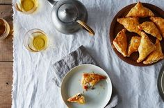 Eat samosas—flaky, potato and pea-filled dumplings—as an appetizer and you& forget all about what you prepared for dinner. One Pan Pasta, Sandwiches, Filling Snacks, Good Food, Yummy Food, Yummy Eats, Puff Pastry Recipes, Food 52, Indian Food Recipes