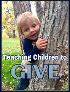 Teaching Our Children to Give