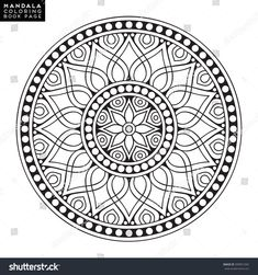 Find Flower Mandala Vintage Decorative Elements Oriental stock images in HD and millions of other royalty-free stock photos, illustrations and vectors in the Shutterstock collection. Thousands of new, high-quality pictures added every day. Cute Coloring Pages, Mandala Coloring Pages, Adult Coloring Pages, Coloring Books, Colouring, Mandala Pattern, Mosaic Patterns, Arte Mandela, Mandala Oriental