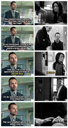 Elementary - Joan and Sherlock