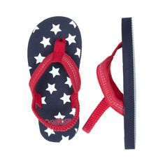 4th of july flip flop | Baby Girl Shoes